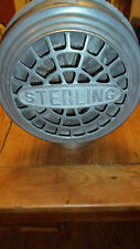 "Vintage Sterling ""Big Chief"" Fire Truck Siren 6 Volt Works Great"