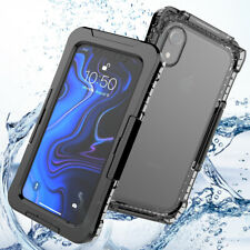 For iPhone Xr Waterproof Phone Case Full Body Protective Case Cover Shell IP68