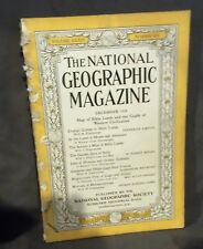 National Geographic Magazine December 1938 NO MAP Chane Coems to Bible Lands
