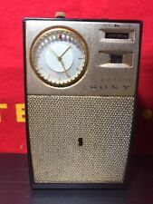 Sony TRW-621 Radio AM Six 6 Transistor Vintage Japan 60s
