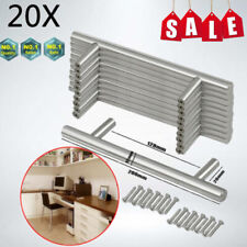 20X SOLID Stainless Steel T bar Kitchen Cabinet Door Handles Drawer Pulls Knobs