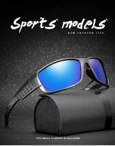 Gafas de sol polarizadas, Aimi Blue HD, UV400, de calidad + funda, Sunglasses.