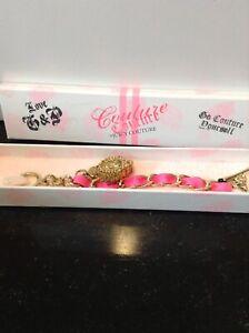 Juicy Couture , Couture Couture bracelet locket perfume NIB