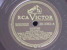 Metronome All Stars/Miles-Parker-Diz/Overtime-Victory Ball/RCA Victor 20-3361/N-