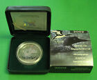 Canada 2002 silver Maple Leaf Anniversary Loon Cao and Box