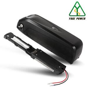 36V 15Ah Ebike Akku 555Wh Hailong Batterie Ladegerät USB Unterrohr YOSE POWER