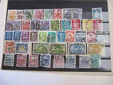 Estland 1919-1938 kleine Sammlung aus Mi.-Nr. 2-126 gestempelt