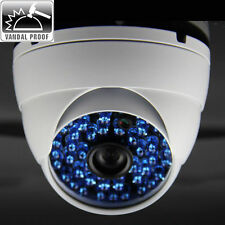 2.8mm CCTV 1920*1080P 2MP 48IR Onvif Net  IP Outdoor Security DOME Camera WHITE*