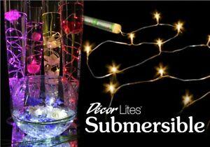 Impresionante Sumergible Impermeable Fairy Luces (15 Leds) 7 Colores Gratuito