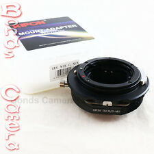 Kipon Tilt & Shift Nikon F mount G AF-S Lens to Sony NEX E Adapter 7 6 5R A5000