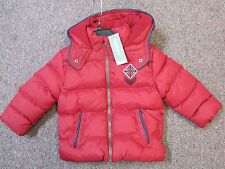 3 Pommes boys red jacket NWT size 12/18 months