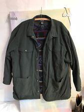 Vintage Patagonia Mens Aztec Fleece Lined Barn Coat Field Jacket XL Green Unisex