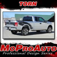 TORN 2015-2019 Ford Truck F-150 Stripes Decals Bed Side Graphics 3M Pro Vinyl