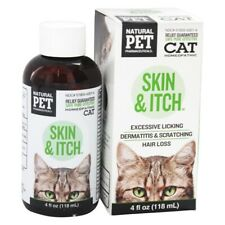 King Bio Natural Pet Skin & Itch Irritation For Felines Large, 4 Ounces