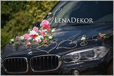 wedding car decoration, MIKA , ribbon, bows, prom limo  ,mariage, matrimonio