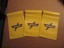 Vintage Monroe shock absorber vinyl pocket savers 3 pieces