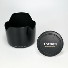 Canon Original EW-83B Lens Hood & 77mm Lens Cap For EF Zoom 28-70 L Ultrasonic