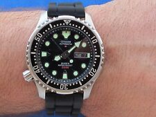 CITIZEN PROMASTER AUTOMATIC DIVERS 200M DAY-DATE 8203-S034124 MENS 42mm