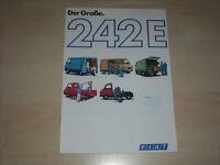 63186) Fiat 242 E Prospekt 05/1981