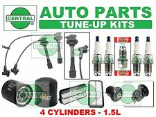 TUNE UP KITS 96-98 TOYOTA PASEO: SPARK PLUGS, WIRE SET; AIR, FUEL & OIL FILTER