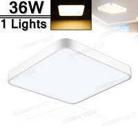 36W LED Ceiling Light Modern Fixture Bedroom Kitchen Surface Mount Lighting