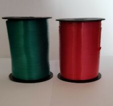 1000 Yards Christmas Curling Ribbon 500 Red 500 Green Gift Craft Party Favor
