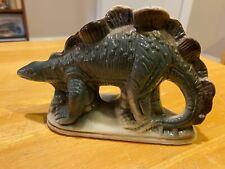 Vintage Ceramic Dinosaur Figure – Stegosaurus– Made In Brazil – Very Good