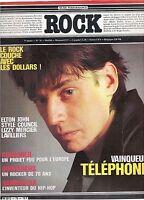 Magazine ROCK en stock n° 76 lavilliers telephone elton michael jackson cure