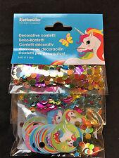 LICORNE ANNIVERSAIRE Confetti de table décoration Triple valeur Pack