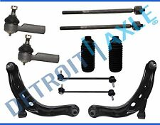 05-09 Ford Escape Mariner 10pc Front Lower Control Arm Tie Rod Sway Bar Link Kit