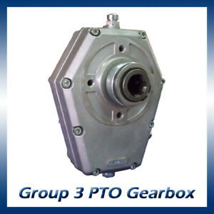Hydraulic Tractor PTO Gearbox to Suit Group 2/3 Pump 1:3 Ratio 70004-4 20Kw