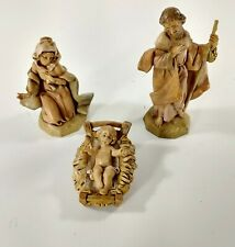 Fontanini Holy Family Heirloom Nativity Figures Collection Roman Italy 1991