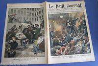 Le petit journal 1903 666 catastrophe du métropolitain + créateurs du vatican