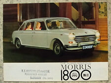 MORRIS 1800 Mk II Car Sales Brochure 1968 #2513