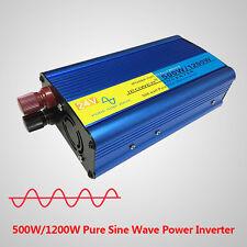 500W/1200W Pure Sine Wave Power Inverter DC 24V to AC 230v 240V Lorry converter