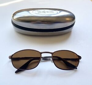 Ray Ban RB3023 Brown Round Highstreet Sunglasses With New POLARIZED Brown Lenses