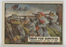 1962 Topps Civil War News #33 Fight for Survival Non-Sports Card 0s4
