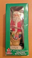 """Holiday Traditions 5"""" Porcelain Collectible Santa Figurine Vintage 1925 Mexico"""