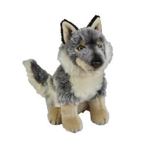Grey Wolf Soft ToyTeddy from Ravensden 28cm Suma Collection BNWT