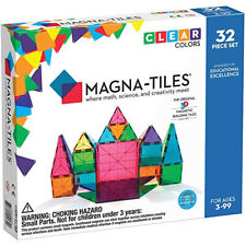 Magna-Tiles 12148 Clear Colors 48 Pc Dx Set Toy Toy Play For Office Magna Tiles