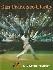 1980 SAN FRANCISCO GIANTS YEARBOOK MLB
