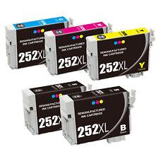 252XL Color Ink  Epson Printer WorkForce WF-3620 WF-3640 WF-7110 WF-7610 WF-7620