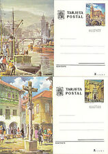 Enteros Postales/Tarjetas Años completos de 1976 a 1984 Edifil 113/138     NL363