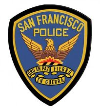"""San Francisco Police Department Patch all Metal Sign  18 X 12"""""""
