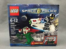 New LEGO Space Police Squidman Escape 5969 NIB Sealed