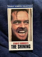 The Shining -Vhs- Stanley Kubrick Collection - Jack Nicholson - Classic Horror