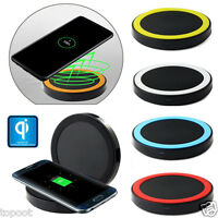 Qi Wireless Charger Fast Charging Pad Mat For Samsung Galaxy S6 S7 Edge S8 Plus