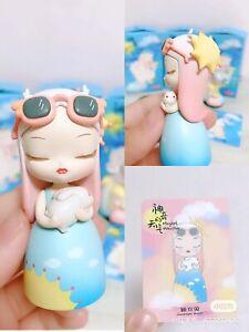 POP MART KeMelife Magical Weather Mini Figure Good Night Rabbit Art Toy New Cute