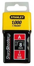 Stanley 1-tra205t Graffette tipo 8 mm 1000st. per Tr45 Tr151y Tr150l