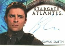 Stargate Atlantis Season 2 Autograph Card Kavan Smith